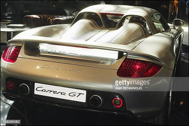 Porsche Carrera GT in Monaco on April 22 2004