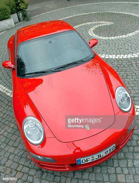 Porsche Carrera S is seen parked in Frankfurt Germany Monday December 7 2004 Porsche AG Europe's most profitable carmaker said it's confident'' about...