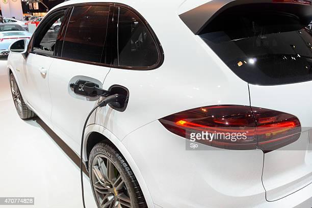 Porsche Cayenne S E-hybrid plug-in-hybrid-SUV Nahaufnahme