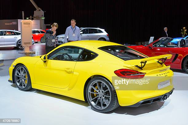 Porsche Cayman GT4 sports car