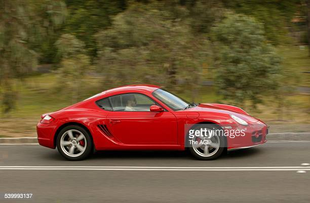 Porsche Cayman S road test. 27th February 2006 THE AGE DRIVE Picture by SIMON SCHLUTER