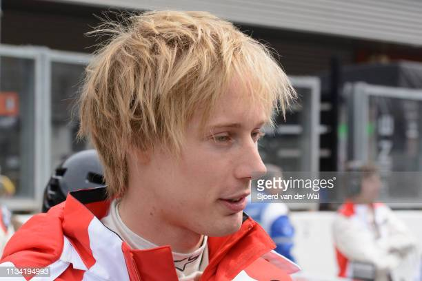 Porsche FIA WEC racing driver Brendon Hartley at the start grid during the 6 Hours of SpaFrancorchamps race the second round of the 2015 FIA World...