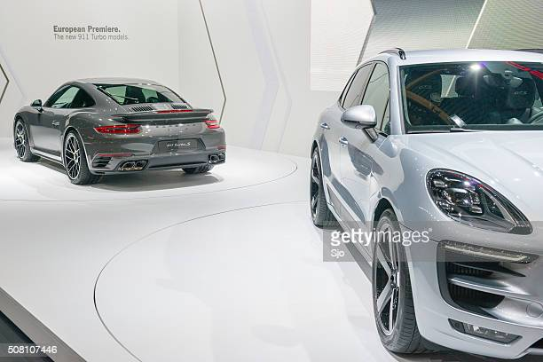 Porsche Macan GTS and Porsche 911 Turbo S