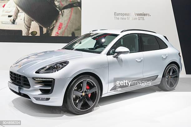 Porsche Macan GTS crossover SUV