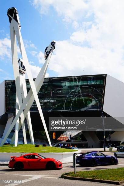 Porsche Museum, Porsche Cars, Porsche Sculpture, Stuttgart, Germany