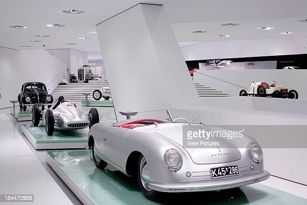 Porsche PlatzGermany Architect Stuttgart General View Of Porsche Museum Baden Wuerttemberg Stuttgart Germany Designed By Delugan Meissl Associated...