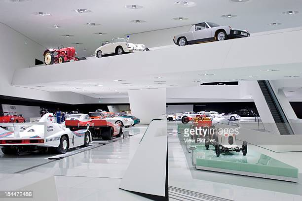 Porsche PlatzGermany Architect Stuttgart Porsche Museum General View Of The First Floor Gallery Area
