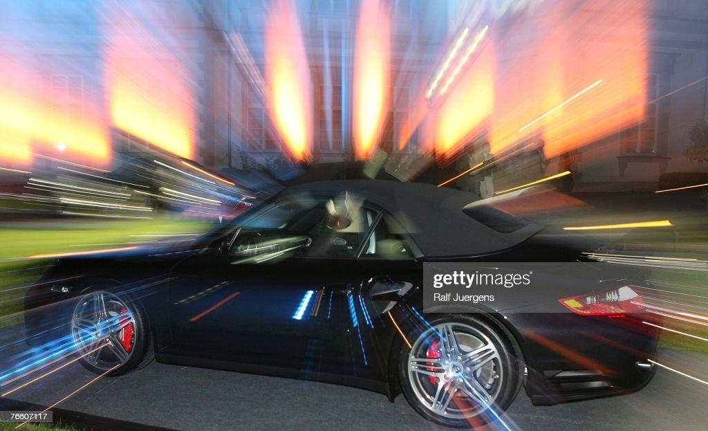 Presentation Of New Porsche 911 Convertible : News Photo