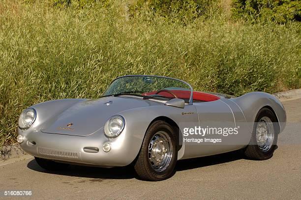 Porsche Spyder James Dean replica By Simon Clay