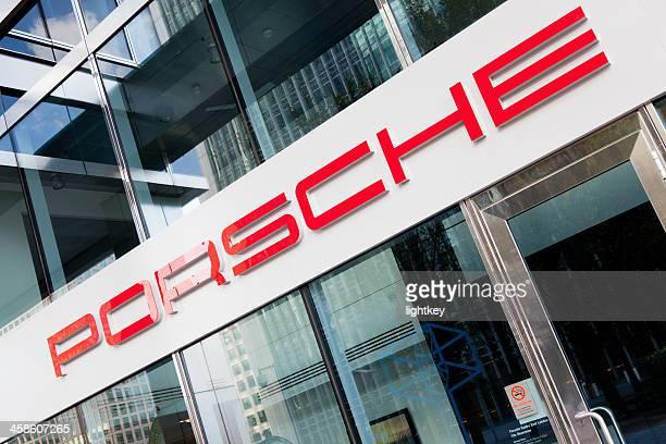 Porsche store in London