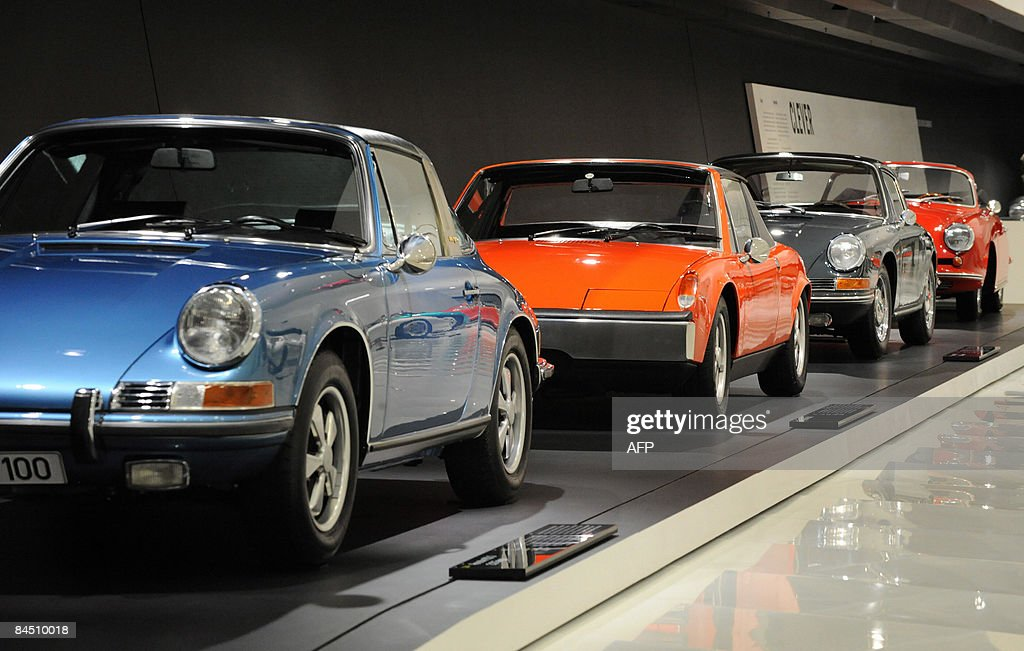 Porsche Vintage Cars Are Presented At The New Museum Of German Car