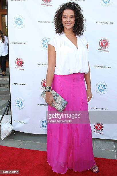 """Porschla Coleman attends the 1st Annual Compound Foundation """"Fostering A Legacy"""" Benefit on July 14, 2012 in East Hampton, New York."""