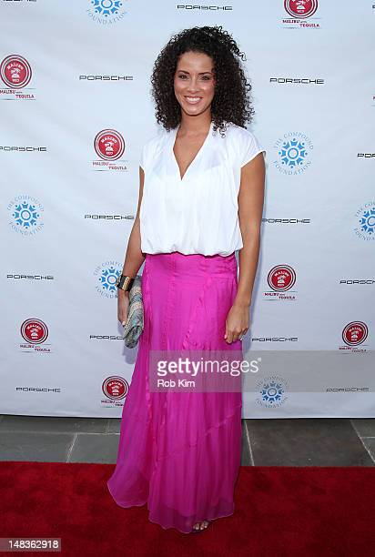 Porschla Coleman attends the 2012 Compound Foundation Fostering A Legacy Benefit on July 14, 2012 in East Hampton, New York.