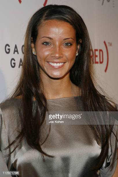 Porschla Coleman attends The Auction to raise money to fight AIDS in Africa at Sotheby's on February 14, 2008 in New York City.