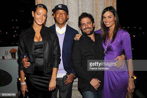 Porschla Coleman Russell Simmons Brett Ratner and Alina Puscau attend VANITY FAIR Tribeca Film Festival Party hosted by GRAYDON CARTER ROBERT DE NIRO...