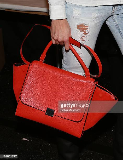 Porschla Kidd attends Milly By Michelle Smith during Fall 2013 Mercedes-Benz Fashion Week at The Stage at Lincoln Center on February 13, 2013 in New...
