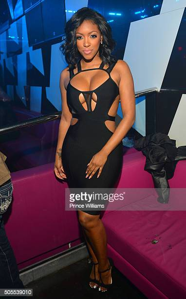 Porsha Williams attends an MLK Celebration at Gold Room on January 17 2016 in Atlanta Georgia