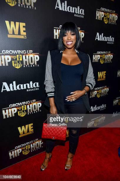 Porsha Williams attends WE tv Celebrates The Return Of Growing Up Hip Hop Atlanta at Club Tongue Groove on October 2 2018 in Atlanta Georgia