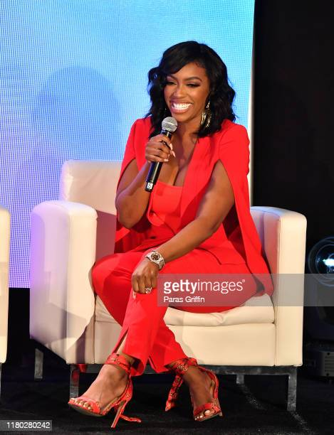 Porsha Williams onstage during A3C Festival & Conference at AmericasMart on October 10, 2019 in Atlanta, Georgia.