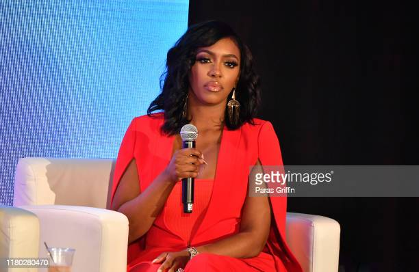 Porsha Williams onstage during A3C Festival Conference at AmericasMart on October 10 2019 in Atlanta Georgia