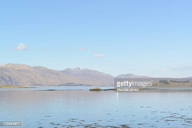 Port Appin Lighthouse and Loch Linnhe