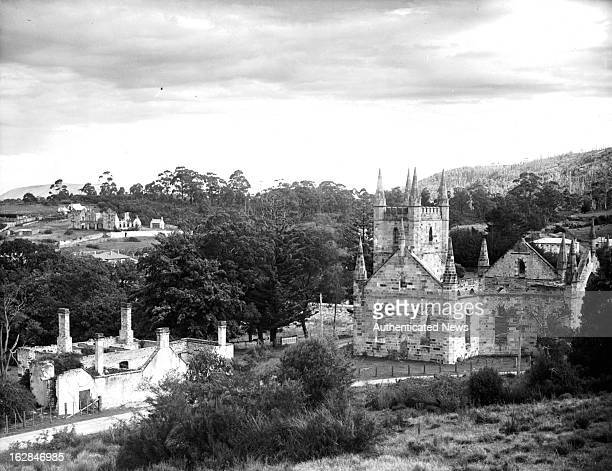 Port Arthur is a small town and former convict settlement on the Tasman Peninsula the old church and other remains seen are relics of the days when...