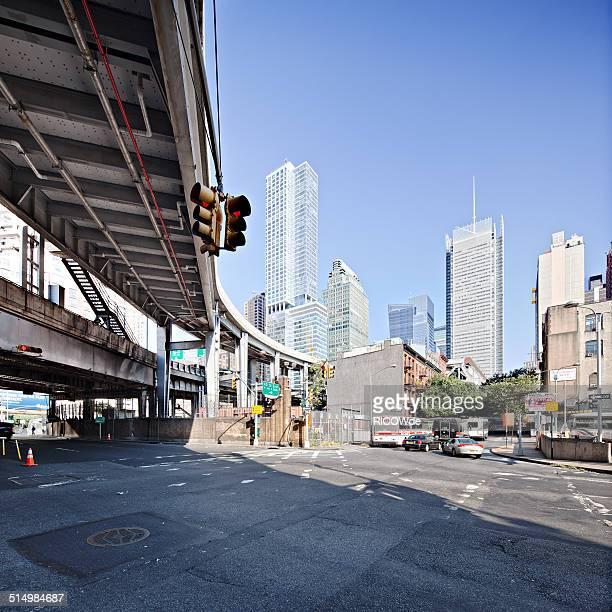 Port Authority bus terminal ramp, New York City