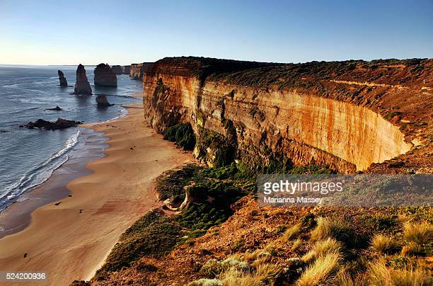 Port Campbell National Park Victoria Australia The Twelve Apostles rock formations in Port Campbell National Park