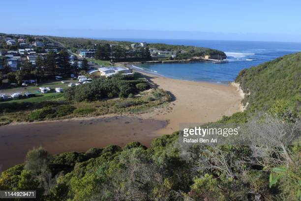 port campbell town victoria australia - rafael ben ari stock pictures, royalty-free photos & images