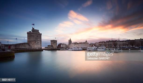 port de la rochelle - la rochelle stock pictures, royalty-free photos & images