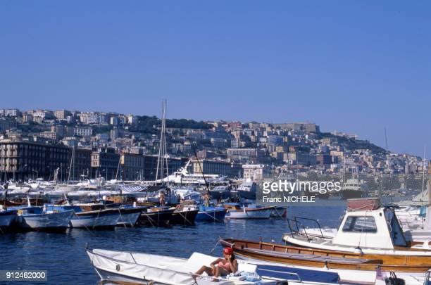 Port de plaisance a Naples Italie