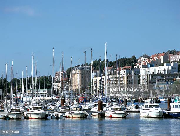 Boulogne sur mer stock photos and pictures getty images - Port de plaisance de boulogne sur mer ...