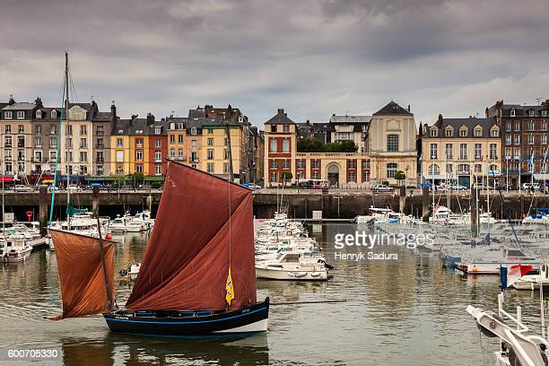 Dieppe france photos et images de collection getty images - Liste des ports de plaisance en france ...
