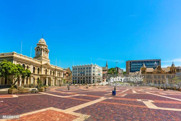 port elizabeth city hall and public library, south africa - port elizabeth south africa stock pictures, royalty-free photos & images