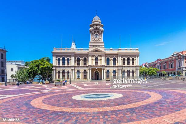 port elizabeth city hall, south africa - eastern cape stock pictures, royalty-free photos & images