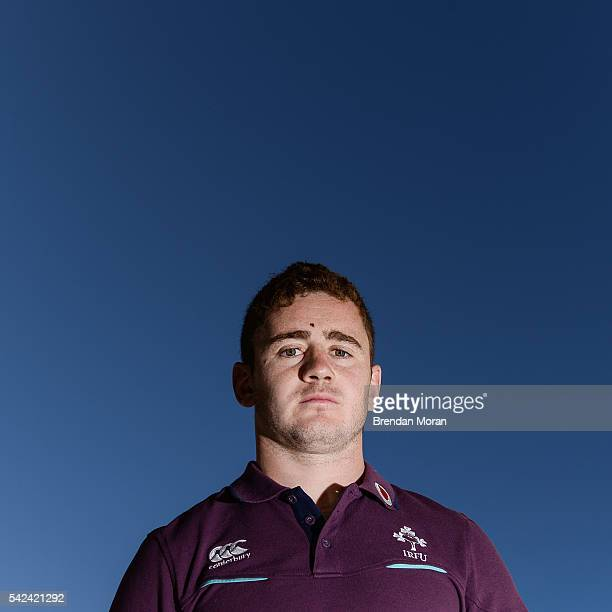 Port Elizabeth South Africa 23 June 2016 Paddy Jackson of Ireland poses for a portrait after the team announcement press conference at the Boardwalk...