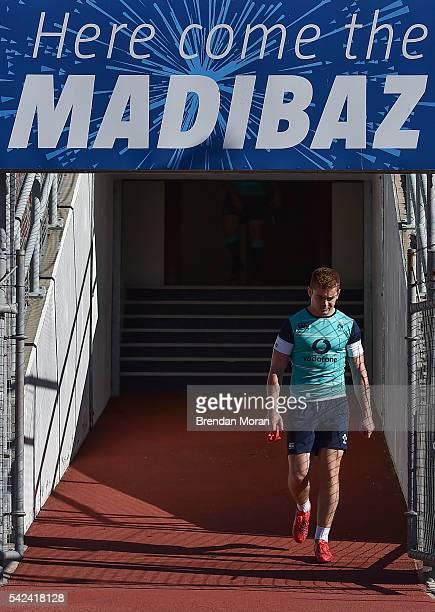 Port Elizabeth South Africa 23 June 2016 Paddy Jackson of Ireland before rugby squad training at the Nelson Mandela Metropolitan University Port...