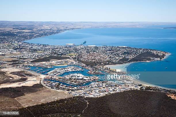 port lincoln. south australia. - porto lincoln - fotografias e filmes do acervo