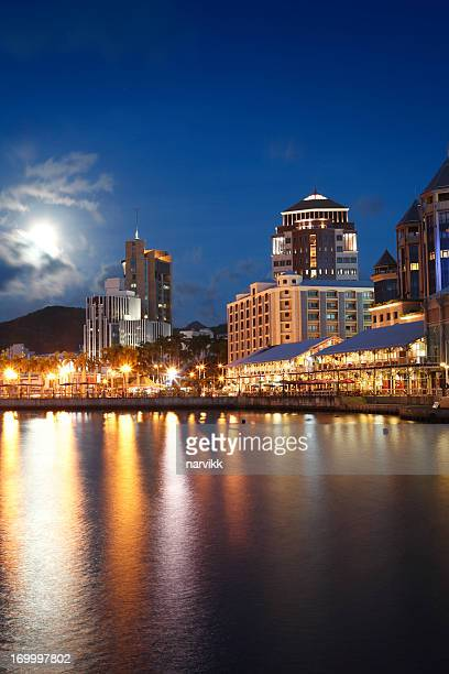 Port Louis by night