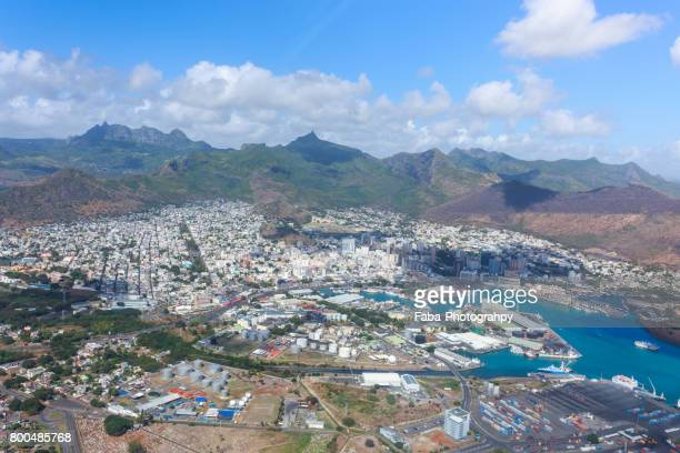 port louis the capital of mauritius - port louis stock photos and pictures
