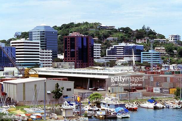 port moresby, downtown - port moresby stock pictures, royalty-free photos & images