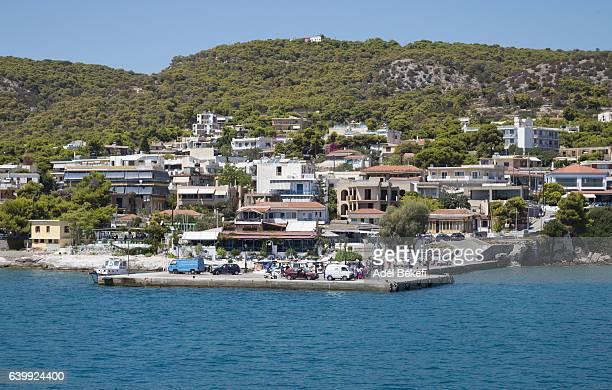 Port of Aegina (Greece)