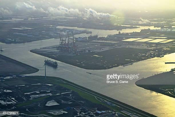 Port of Amsterdam aerial