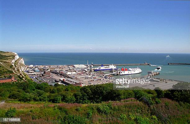 port of dover - dover england stock pictures, royalty-free photos & images