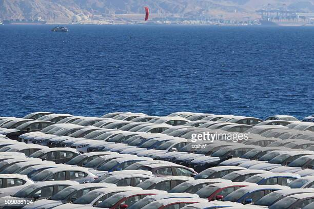 Port of Eilat - New vehicles arrived