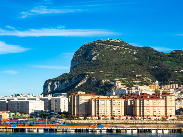 Port of Gibraltar and the city