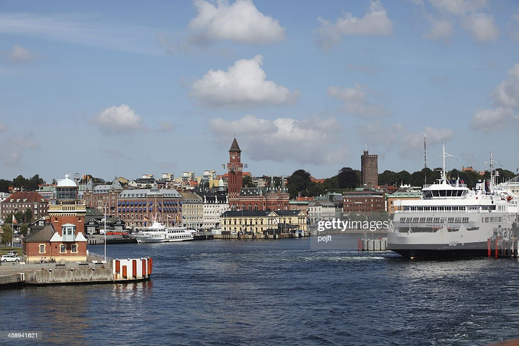 Port of Helsingborg : Stock Photo