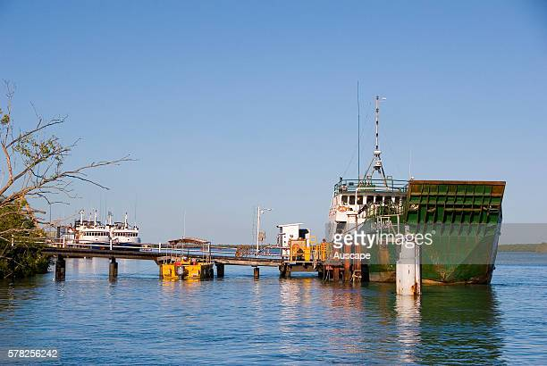 Port of Karumba that has serviced remote Gulf communities since the late 1800s, Gulf Savannah, Queensland, Australia.