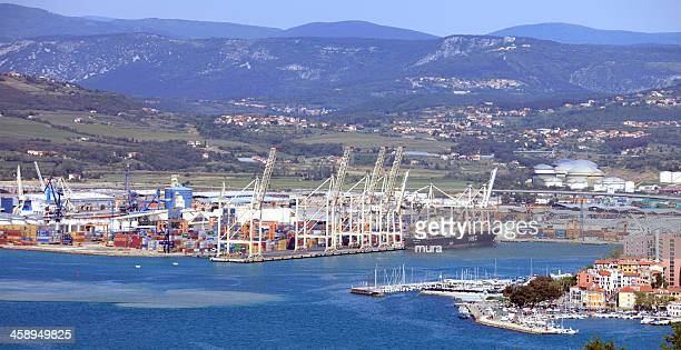 port of koper - capodistria, slovenia - koper stock photos and pictures