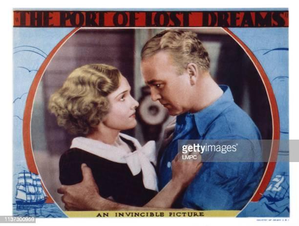 Port Of Lost Dreams US lobbycard from left Lola Lane William Boyd 1934